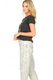 Set    Cotton T-shirt with imprint Karina   black    Picture 5