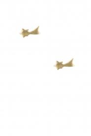 Betty Bogaers | 14k verguld gouden oorbellen Shooting Star | goud  | Afbeelding 2