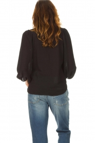 Set |  Poplin blouse Kiki | black  | Picture 6