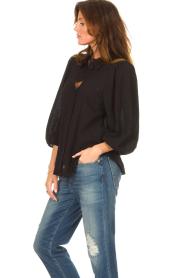 Set |  Poplin blouse Kiki | black  | Picture 5
