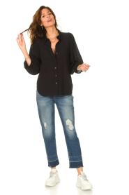 Set |  Poplin blouse Kiki | black  | Picture 3