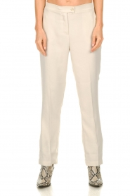 Dante 6    Pants Alison   ecru    Picture 2