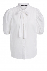 Set |  Blouse with pussybow Ella | white  | Picture 1