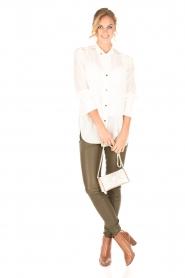 By Malene Birger | Zijden blouse Verao | wit  | Afbeelding 3