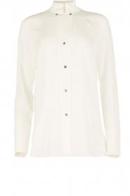 By Malene Birger | Zijden blouse Verao | wit  | Afbeelding 1