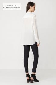 By Malene Birger | Zijden blouse Verao | wit  | Afbeelding 8