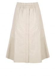 Dante 6 | Leren rok Reid | naturel  Leather skirt Reid | natural  | Picture 1
