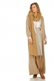 Dante 6 | Leren rok Reid | naturel  Leather skirt Reid | natural  | Picture 3