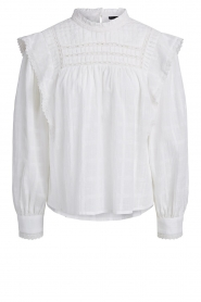 Set |  Blouse with ruffles Bella | white   | Picture 1