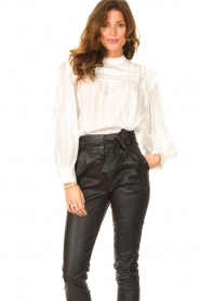 Set |  Blouse with ruffles Bella | white   | Picture 4