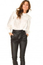 Set |  Blouse with ruffles Bella | white   | Picture 5