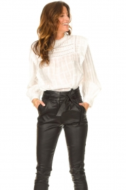 Set |  Blouse with ruffles Bella | white   | Picture 2