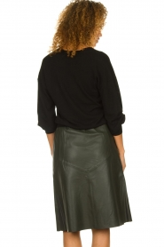 Dante 6 |  Leather skirt Reid | green  | Picture 6