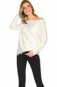 Set |  Basic sweater Rikki | white  | Picture 4