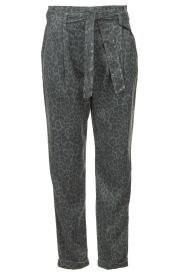Kocca | Pants with print Zilon | grey  | Picture 1