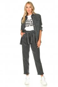 Kocca   Pants with print Zilon   grey    Picture 2