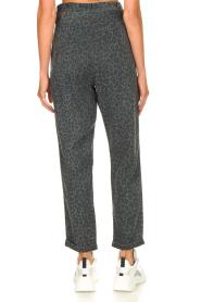 Kocca | Pants with print Zilon | grey  | Picture 6