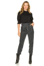 Kocca | Pants with print Zilon | grey  | Picture 2