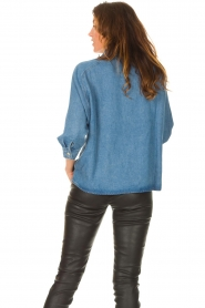 Set |  Denim shirt Ally | blue  | Picture 7