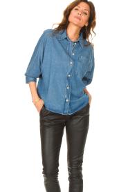 Set |  Denim shirt Ally | blue  | Picture 5