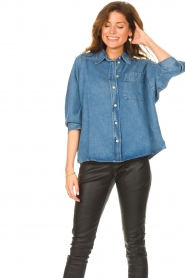 Set |  Denim shirt Ally | blue  | Picture 2