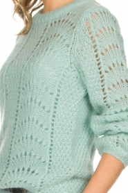 Set |  Knitted sweater Snow | blue  | Picture 6