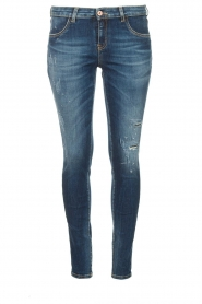 Kocca |  Skinny jeans with destroyed effect Sofi | blue  | Picture 1