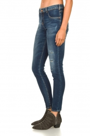 Kocca |  Skinny jeans with destroyed effect Sofi | blue  | Picture 5