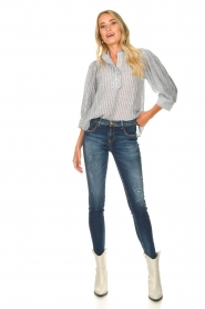 Kocca    Skinny jeans with destroyed effect Sofi   blue    Picture 2