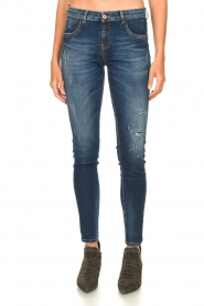 Kocca |  Skinny jeans with destroyed effect Sofi | blue  | Picture 4