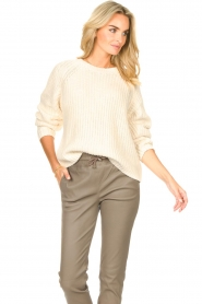 Set    Knitted sweater Olivia   natural    Picture 5