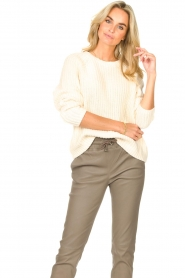 Set    Knitted sweater Olivia   natural    Picture 4