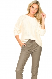 Set    Knitted sweater Olivia   natural    Picture 2