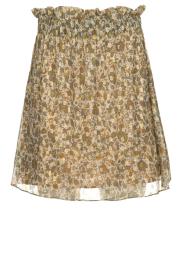 Dante 6 |  Skirt with lurex Franni | beige  | Picture 1