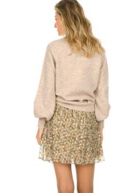 Dante 6 |  Skirt with lurex Franni | beige  | Picture 5
