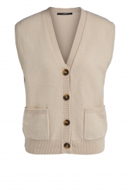 Set |  Spencer with pockets Teddy | camel  | Picture 1