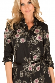 Patrizia Pepe |  Blouse dress Adia | black  | Picture 6