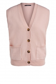 Set |  Spencer with pockets Teddy | pink  | Picture 1