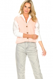 Set |  Spencer with pockets Teddy | pink  | Picture 4