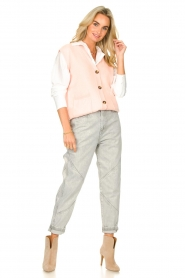 Set |  Spencer with pockets Teddy | pink  | Picture 3