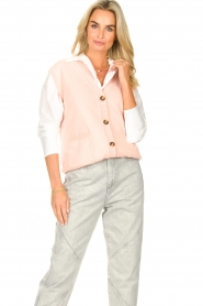 Set |  Spencer with pockets Teddy | pink  | Picture 2