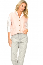 Set |  Spencer with pockets Teddy | pink  | Picture 5