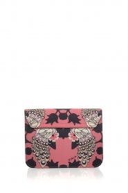 Furla | Leren schoudertal Metropolis Mini | roze  | Afbeelding 4