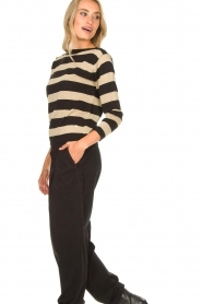 Kocca | Striped sweater Glavur | black  | Picture 5