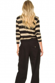 Kocca | Striped sweater Glavur | black  | Picture 6