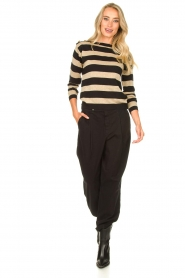 Kocca | Striped sweater Glavur | black  | Picture 3