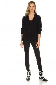Set | Klassieke pantalon Gina | zwart  | Afbeelding 2