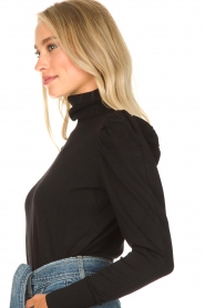 Kocca | Turtle neck Dawn | black  | Picture 6