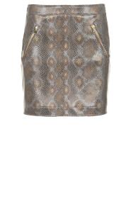 Patrizia Pepe |  Snake printed skirt Lara | animalprint  | Picture 1
