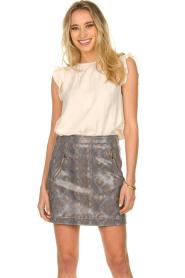 Patrizia Pepe |  Snake printed skirt Lara | animalprint  | Picture 2